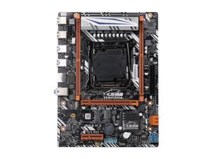 JINGSHA X99-D4 Dual Channel DDR4 Motherboard Loaded M.2 Gaming Motherboard for LGA2011 V3/V4 Series CPU 64GB M-ATX Mainboard