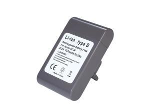 2500mAh Battery for Dyson DC31 DC35 DC44 DC45 Series 22.2V Li-ion Cordless Vacuum Cleaner Rechargeable Battery( Only Fit Type B )