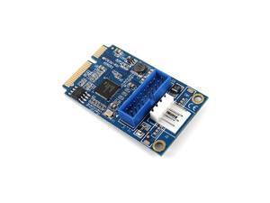 MINI PCI-E to USB3.0 Adapter Card Mini PCIE to 20Pin/19Pin Expansion Card