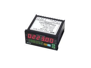 90-260V AC/DC Digital Counter Length Batch Meter 1 Preset Relay Output