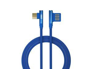USB Type-C Charging Cable for Nintendo Switch Fast Game Console Charging Line 5ft Long (Blue)