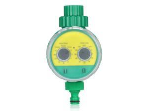 Outdoor Timed Irrigation Controller Automatic Sprinkler Controller Programmable Valve Hose Water Timer Faucet Watering Timer for Home Garden Farmland