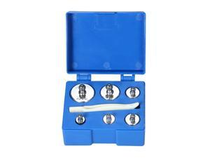 6pcs Weight 5g 10g 2x20g 50g 100g Grams Precision Calibration Weights Kit Set Total 200g with Tweezer for Balance Scale
