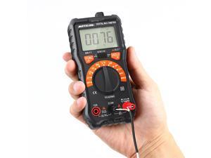 Meterk 2000 Counts Digital Multimeter True RMS Multi-functional Auto Ranging Non Contact Voltage Multi Meter DMM Voltmeter Ohmmeter Measuring AC/DC Voltage Current Resistance Capacitance Frequency