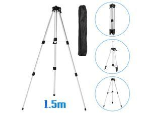 1.5M 3 Heights Adjustable Alloy Extension Bar Tripod Stand For Laser Level with Carrying Bag