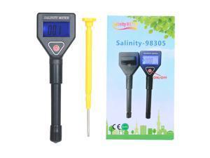Seawater Salinity Refractometer Portable Handheld Salinity Meter ATC Salinometer Aquarium Halometer Salt Gauge Saltwater Tester