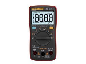 ANENG AN8002 6000 Counts True RMS Multifunctional Digital Multimeter Voltmeter Ammeter Handheld Mini Universal Meter High Accuracy Measure Temperature AC/DC Voltage AC/DC Current Resistance