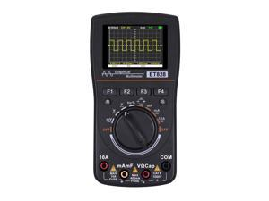 ET828 High Definition Intelligent Graphical Digital Oscilloscope Multimeter 2 in 1 with 2.4 Inches Color Screen 1MHz Bandwidth 2.5Msps Sampling Rate for DIY and Electronic Test