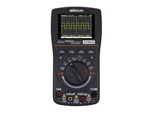 KKmoon kkm828 High Definition Intelligent Graphical Digital Oscilloscope Multimeter 2 in 1 with 2.4 Inches Color Screen 1MHz Bandwidth 2.5Msps Sampling Rate for DIY and Electronic Test