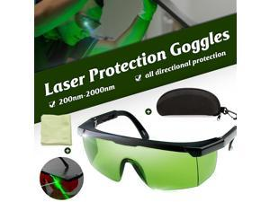 Laser Protection Goggles 200nm-2000nm Laser Safety Glasses OD4+ Stylish Protective Glasses