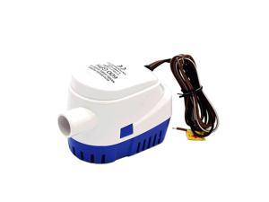 DC12V/24V 600/750/1100GPH Automatic Bilge Pump Submersible Boat Water Pump Electric with Float Switch Marine Equipment