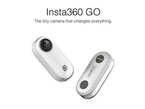 Insta360 Go 1080P Video Sports Action Camera with 8GB Memory Supports FlowState Stabilizetion Timelapse Hyperlapse Slow Motion BT Connection APP Control for YouTube Vlog Video Making