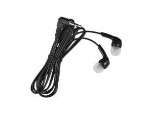 In-ear Headphones Wired Earphones Earbuds 3.5mm Plug for Smartphone PC Laptop Tablet Black