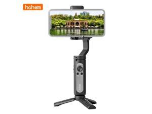 Hohem iSteady X Ultralight 3-Axis Palm Gimbal Handheld Stabilizer Foldable Design One-click Inception Mode with Moment Mode ISteady 3.0 Anti-shake Algorithm System Compatible with Smartphone Weight up