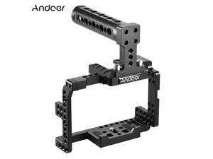 Andoer Protective Video Camera Cage Stabilizer Protector w/ Top Handle for Sony A7II A7RII A7SII  ILDC Mirrorless Camcorder