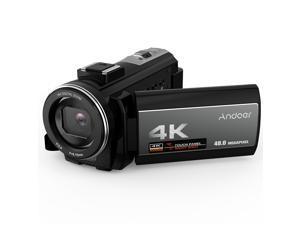 Andoer  4K Digital Video Camera Camcorder Ultra HD 48MP WiFi  3.0 Inch Touch Screen IR Infrared Night-shot 16X Digital Zoom with 1pc 2000mAh Rechargeable Camera Battery