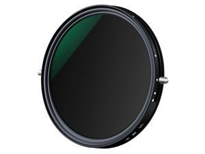 K&F CONCEPT 72mm 2-in-1 Variable Adjustable ND Filter Neutral Density Fader 5-Stop ND2-ND32 and CPL Circular Polarizing Filter Ultra-thin with Cleaning Cloth for Canon Sony Nikon Camera Lens