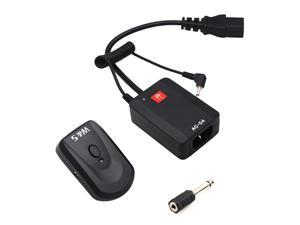 Wireless Trigger System with Transmitter Receiver 4 Channels with 3.5mm to 6.35mm Adapter for Photography Studio Flash Light