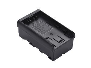 Pana. to NP-F Series Battery Converter Adapter Plate for DU14/21 VBG6/130/260 D16S/28S/D54S VBN130/260 to Replace F950/F750/F550 for LED Video Light Panel/ Monitor/ DSLR