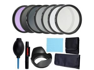 Professional Lens and Filter Bundle Complete and Compact Camera Accessory Kit Photography Accessories 58mm