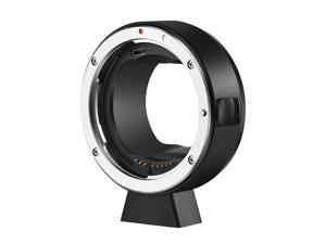 ATLSON EF-L Camera Lens Adapter Ring Auto Focusing EXIF Transmission Anti-shaking with 1/4 Thread Compatible with Panasonic S1/S1R/S1H/S5 Camera to Canon EF/EF-S Mount Lens