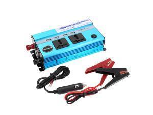 KKmoon 500W Car Power Inverter DC 24V to AC 220V 50Hz with 4 USB Ports / 2 AC Outlets