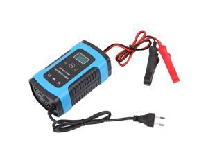 12V 6A Full Automatic Car Battery Charge Device Intelligent Power Charge Pulse Repairing Chargers Wet Dry Leadacid Battery-chargers with Digital LCD Display