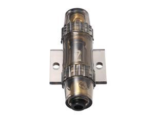 IMC Audio 60 Amp Inline AGU Fuse Holder Fits 4 8 10 Gauge Wire gray