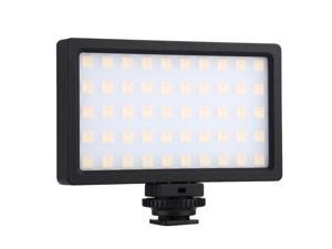 RGB Dimmable Led Fill Light 100LED 800LM Photography Lamp Camera Light Pocket Portable Photography Fill Light for DSLR Cameras/Smartphones