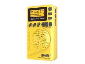 Pocket DAB Digital Radio Mini DAB+ Digital Radio With MP3 Player FM Radio LCD Display