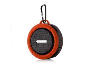 Outdoor Waterproof BT Speaker, Wireless Portable Speaker with Enhanced 3D Stereo Bass Sound, Mini Shower Travel Speaker with Subwoofer, 10-Hour Playtime, Built-in Mic, TF Card Slot, for Sports, Pool,