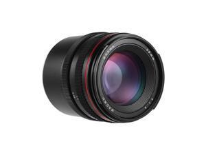 50mm f/1.4 Large Aperture Portrait Manual Focus Camera Lens Low Dispersion for Sony E Mount A7 A7M2 A7M3 NEX 3 5N 5R 5T A6500 A6000 A5100 A5000 A3500 ILDC Cameras
