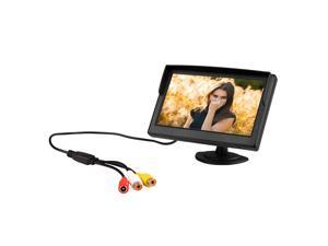 """5"""" Digital Color TFT LCD Car Reverse Monitor for Rearview Camera DVD VCR"""