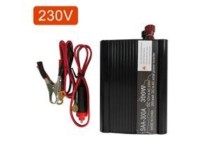 Vislone 300W Car Power Inverter Solar Power Inverter DC 12V to AC 230V Modified Sine Wave Converter with Dual USB Interface