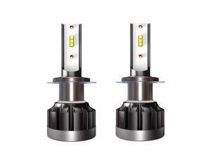 2Pcs Car LED Headlight Bulbs LED Driving Lamp All-in-one Conversion Kit 6000K H7