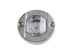 LED Round Transom Light  Navigation Light Stainless Steel Boat White Stern lamp for Yacht Boat