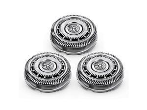 3Pcs Shaving Replacement Blades Replacement for Philips Norelco SH90/52 S7000 S9000