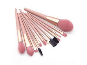 Makeup Brush Kit with Storage Bag PU Leather for Blending Foundation Liquid Cream Powder Eyeshadow Blush Cosmetics Concealer Brushes Set of 12PCS
