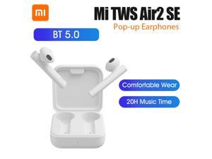 Xiaomi Mi Air2 SE TWS True Wireless Earphones BT 5.0 Pop-up Headset Sports Business Mini Earbuds 20H Music Time SBC AAC Dual Mic Tap Control For iOS Android Phone TWSEJ04WM