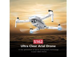 GoolRC S162 RC Drone with Camera GPS Adjustable Wide Angle 4K WIFI Gesture Photo Video MV FPV RC Quadcopter Follow Me Drone for Adults