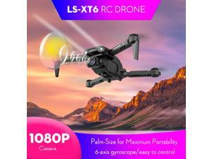 LS-XT6 RC Drone with Camera 1080P Camera Track Flight Gravity Sensor Gesture Photo Video Altitude Hold Headless Mode RC Quadcopter for Adults Kid