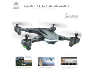 VISUO XS816 Drone with Camera 4K Wifi FPV Optical Flow Positioning Gesture Photography Foldable Quadcopter Altitude Hold Drone