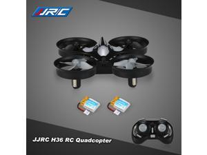 Original JJR/C H36 2.4G 4CH 6-Axis Gyro 3D-Flip Headless Mode Anti-Crush UFO RC Quadcopter Drone with one Extra Battery