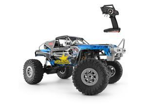 Wltoys 104310 RC Car 1/10 Climbing Car 4WD Dual Motor RC Buggy Off Road 2.4G Remote Control Car Gift Toy for Kids RTR