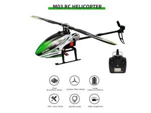 JJRC M03 RC Helicopter RTF 2.4G 6CH Brushless Aileronless Aircraft 3D 6G Stunt Helicopter Remote Control Helicopter for Adult