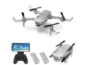 H1 RC Drone with Camera 4K Mini Drone Foldable Quadcopter for Kids with Function Trajectory Flight Headless Mode 3D Flight Auto Hover One Key Takeoff Landing