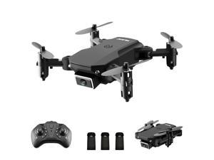 S66 RC Drone with Camera 4K Drone Dual Camera Optical Flow Positioning  WiFi FPV Drone Headless Mode Altitude Hold Gesture Photo Video Track Flight 3D Filp RC Qudcopter