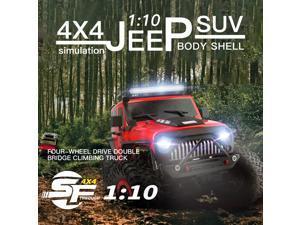 WLtoys 104311 RC Car 2.4G 1/10 4WD Jeep Car SUV Brushed Motor Remote Control Off-road Crawler Car