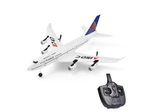 Wltoys XKS A150-C RC Airplane 2.4G Plane RC Aircraft 2CH Remote Control EPP Airplane Miniature Model Plane Outdoor Toy 2 Battery