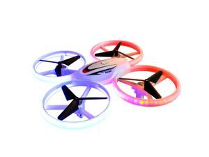 S123 LED Mini Drone for Kids Remote Control Drone Small RC Quadcopter for Beginners UFO Drone with Lights Headless Mode 3D Flips 2.4GHz 4 Channel